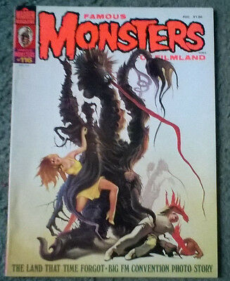 famous monsters of filmland #116.may 1975,new condition,bagged & boarded