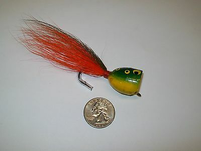 Unknown Large Frog Popper Fly Fishing Lure