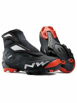 Northwave Black-Red Celsius 2 GTX SPD Winter Cycling Shoe