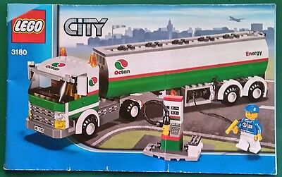 LEGO instructions only. CITY 3180 Octan Energy fuel tanker. used.