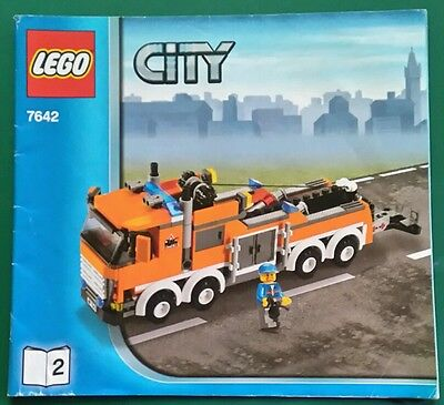LEGO instructions only. CITY 7642 Breakdown truck.  used.