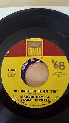 Marvin Gaye & Tammi Terrell - Ain't Nothing like The Real Thing, Tamla 45