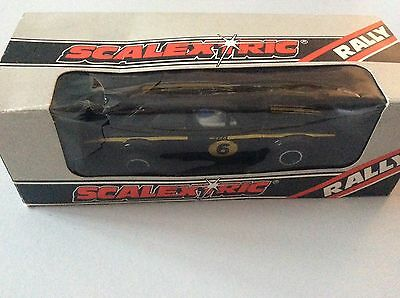 Vintage Scalextric C052 Ford Escort Mexico Special Build Boxed Very Good Cond.