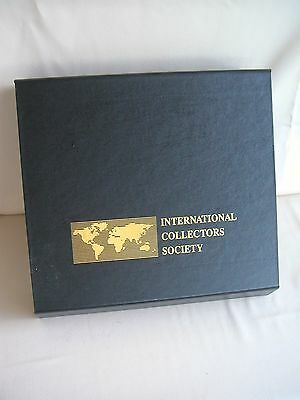 International Society Collectors Postage Stamp Storage Box