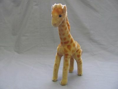 "Vintage 11"" Giraffe Plush Antique Stuffy Steiff?"