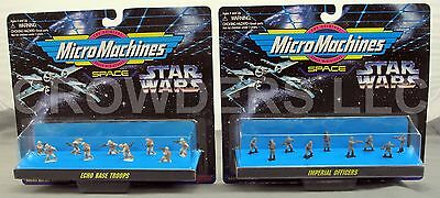 Micro Machines Star Wars Imperial Officers & Echo Base Troops Figure Collections