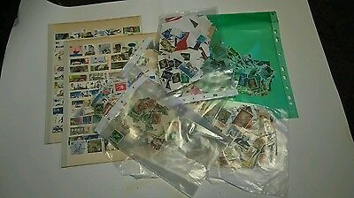 Large Selection Of Unsorted Stamps