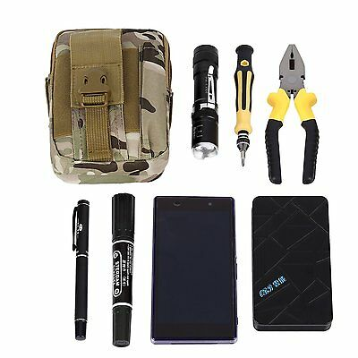 Tactical Waist Pack, OUTAD Compact MOLLE EDC Pouch Utility Gadget Pouch nylon