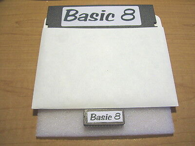 Commodore 128 Basic 8 video utilities rom chip w/ Utility Paint Disk. Tested