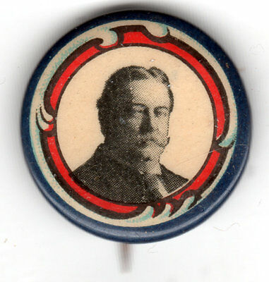 Minneapolis Tribune Complimentary WILLIAM H. TAFT Pin w/ backpaper