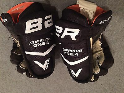 Bauer Ice Hockey Gloves Size 8""