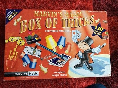marvins magic box of tricks for young magicians.