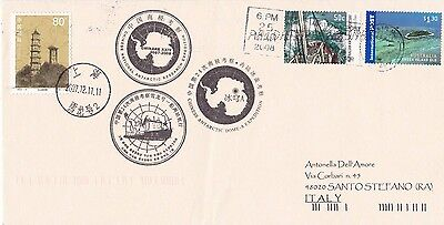 China - antarctic cover from Chinare  XXIV