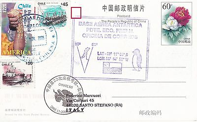 China - antarctic cover from Chinare XXII