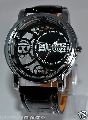 One Piece | The Clear View Wristwatch (Anime Watches Perfect Gift & Cosplay)