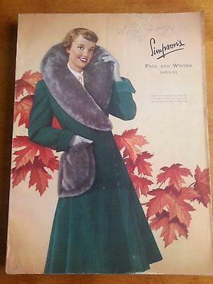 Vintage Simpsons Catalogue Fall & Winter 50-51
