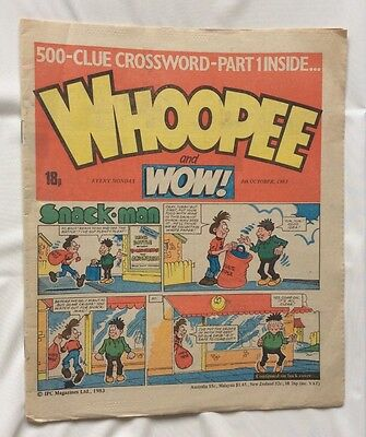 WHOOPEE AND WOW COMIC 8th October 1983