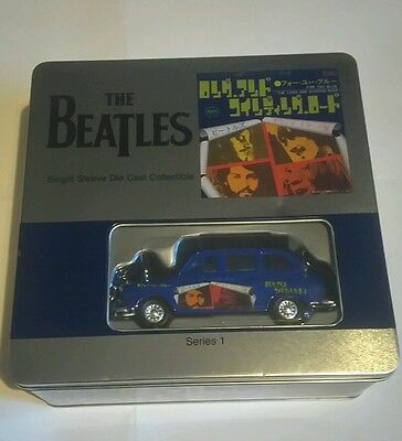 The Beatles - Single Sleeve Die Cast Collectable Series 1 Tshirt, Sleeve And Car