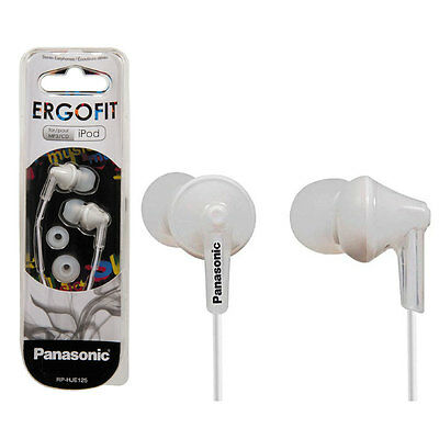 Panasonic RP-HJE125E-W In Ear Headphones - White