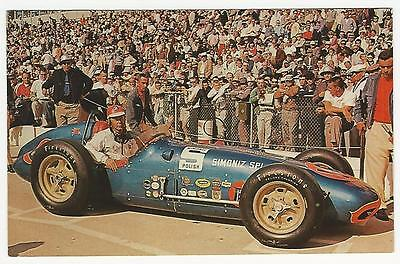 PC, Chrome, Jim Rathman [sic], in the Watson Roadster, Indianapolis 500, 1960