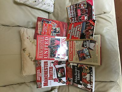 Collection of Manchester United Hardback History Books
