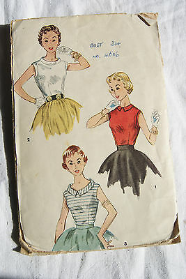 vintage sewing patterns  Simplicity 4606