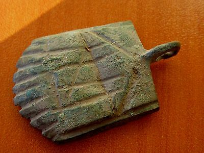 Ancient Roman Bronze Buckle 3rd - 4th Century AD Very interesting