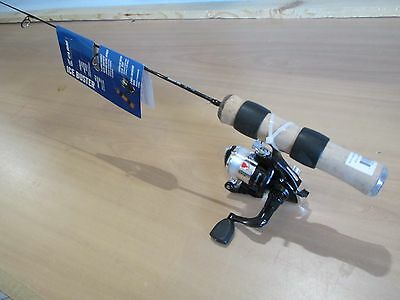 Clam Genz Ice Buster Series Ice rod and reel combo    24 inch ultra light action