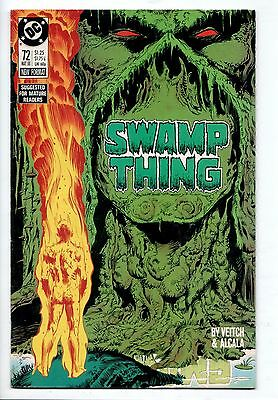 Swamp Thing #72 - (DC, 1988) - FN/VF