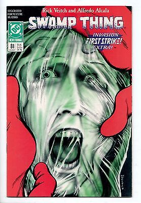 Swamp Thing #81 - (DC, 1988) - VF/NM
