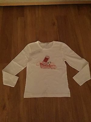 Girls Long Sleeve Top By Miss Grant Size Age 8 Years BNWT