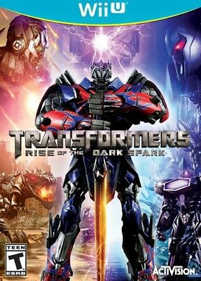 Transformers Rise Of The Dark Spark for Nintendo WiiU [New Wii U]