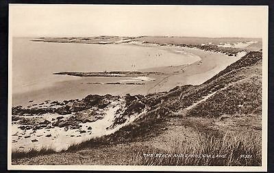 The Beach And Sands, Gullane, East Lothian, Unused.