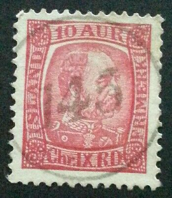 ICELAND Scarcer Numeral Cancel 145