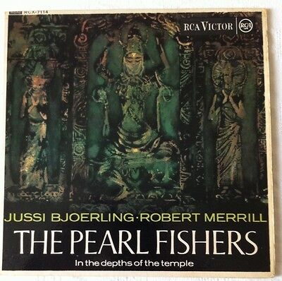 "Bizet - The Pearl Fishers-7"" Vinyl EP - (Bjoerling/Merrill) - RCA Victor-RCX 711"