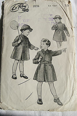 vintage sewing patterns   Le-Roy  2036
