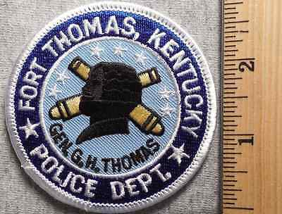 Fort Thomas Kentucky Police Patch (Highway Patrol, Sheriff, Ems, State)