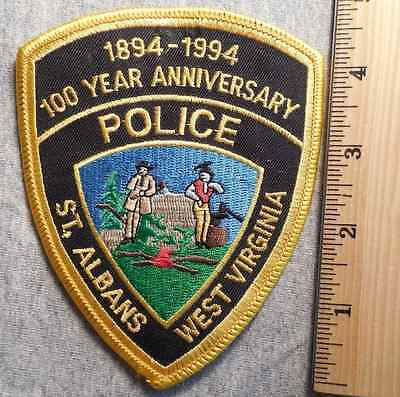 St. Albans West Virginia Police Patch (Highway Patrol, Sheriff, Ems)