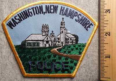 Washington New Hampshire Police Patch (Highway Patrol, Sheriff, Ems)