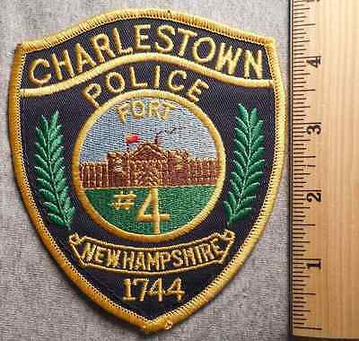 Charlestown New Hampshire Police Patch (Highway Patrol, Sheriff, Ems)