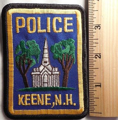 Keene New Hampshire Police Patch (Highway Patrol, Sheriff, Ems)