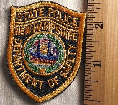 New Hampshire State Police Patch (Highway Patrol, Sheriff, Ems)