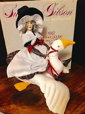 Suzanne Gibson 1980's Mother Goose Doll Limited Edition By Reeves International