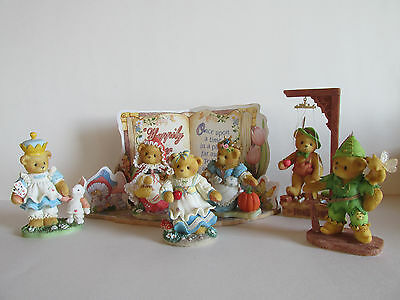 """NIB Cherished Teddies """" Happily Ever After"""" Group"""