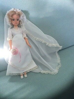 Sindy Blushing Bride Outfit And Doll 1978