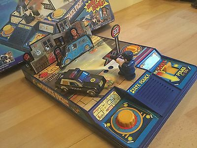 Vintage Electronic Battery Operated Police Fight Shooting Game Boxed. Untested