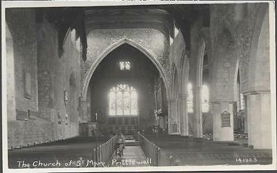 Prittlewell, Essex - St. Mary's Church - local postcard c.1910s
