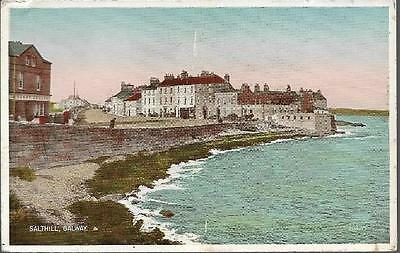 Salthill, Galway, Co. Galway - Valentines postcard c.1940s