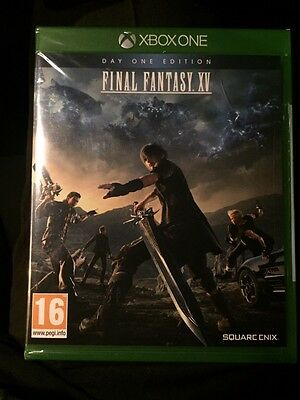 Final Fantasy XV for Xbox One. New & Sealed.