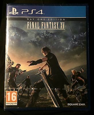 Final Fantasy XV for PS4. New & Sealed.